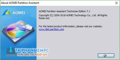 aomei partition assistant technician 2