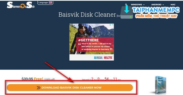 baisvik disk cleaner 2