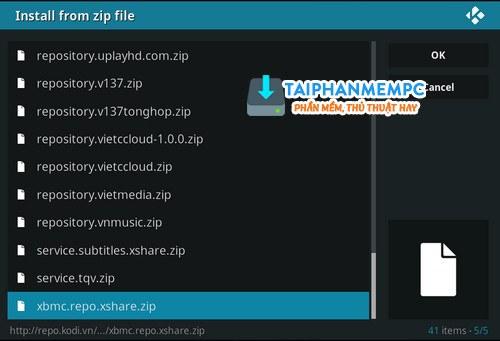 them source repository cai add ons tren kodi 17 14