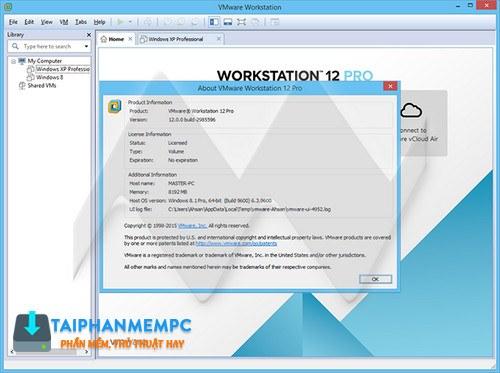 vmware workstation pro 12 2